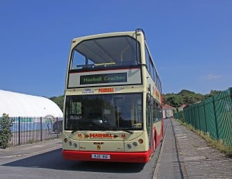 Double decker bus - maghull coaches